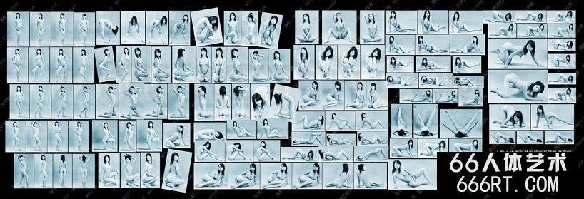 翘臀图片_人体艺术写真基础姿态参考100图一
